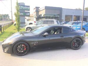 2013 Maserati GranTurismo Sport/Noir sur Noir