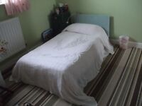 Single Vintage White Candlewick Bedspread