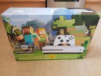 Xbox one s white 500gb minecraft edition and forza horizon 3