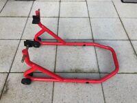 BikeTek Rear Motorcycle Paddock Stand - RRP £35