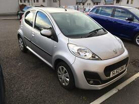 Peugeot 107 Excellent condition. Low mileage