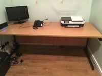 Office desk for sale 180cm by 75cm good condition