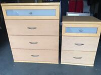 Chest of drawers, 1 x 4drawer and 1 x3 drawer. Very good quality, solid construction - John E Coyle