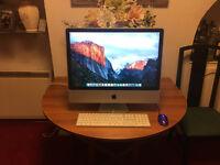 "Apple iMac 24"" Computer, Mid 2007, 1TB Hard drive, 3GB RAM"