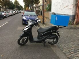 honda vision 110cc 2014 automatic scooter