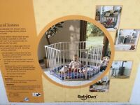 Baby den/play pen/child safety gate/ fire place surround/room divider