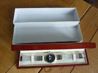 Mini Cooper Silver Watch Boxed