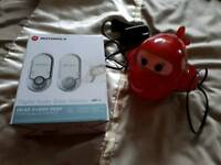 Motorola Baby Monitor with Aeroplane Nightlight