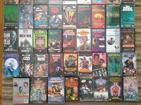 68 VHS videos RARE horror cult sci-fi film and TV