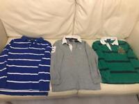 Boys Designer 7-8 years Ralph Lauren Long Sleeve shirts