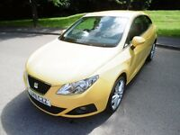 SEAT Ibiza SPORT LOOK @ THE MILEAGE. (yellow) 2011