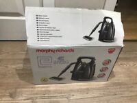 Morphy Richards steam cleaner with attachments