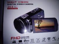 Night vision digital video camera/high definition /24mega pixels