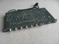Allen & Heath audio mixer, limiter, channel prioritisation, etc.