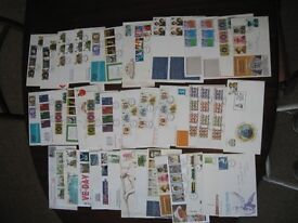First Day Stamp covers