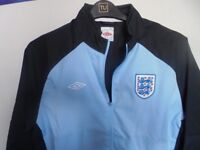 England football kit, jackets, tops, track suit bottoms