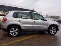 Volkswagen TIGUAN 2.0 TDI, 2008, 4x4, full service history, 1 previous owner, 1 year MOT