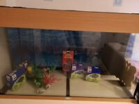 Juwell fish tank and accessories for sale