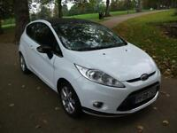 FORD FIESTA 1.25 Zetec 3dr [82] LOW INSURANCE AND LOW TAX BAND NICE CLEAN CAR (white) 2009