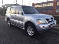 ***MITSUBISHI SHOGUN 3.2 DI-D ELEGANCE VERY GOOD HISTORY+FULL HEATED LEATHER+7SEATER+DRIVES LOVELY**