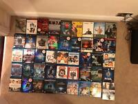 Various Blu Rays and DVDs