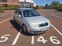 2001 SKADO FABIA 1.4 5 DOOR FAMILY CAR ONLY 80,000 MILES