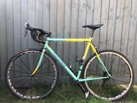 Paganini Cyclocross Road Bike vintage Columbus steel frame