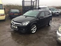 2010 VAUXHALL ASTRA IN BLACK ALLOYS CD MOT GOOD DRIVER CAME IN PX TO TODAY CLOTH SEATS ANYTRIAL