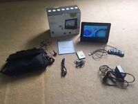"Meos 9"" Portable TV + DVD Player + Games Player, USB/SD Card Player"