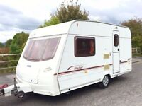 Lunar Stellar 2 Berth Caravan With Motor Mover - Lightweight Caravan