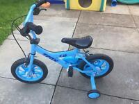 "SOLD Boys trax bike 12"" Halfords pre loved"