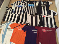 Newcastle United Shirts - RARE - Collectors Must Have.