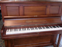 DALE FORTY PIANO GOOD CASE AND WORKS £150 CAN DELIVER