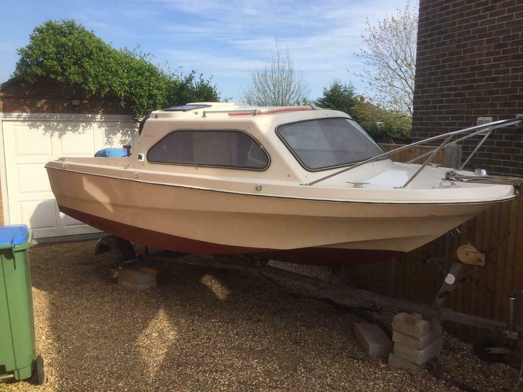 Boat for sale, Shetland 498 with Yamaha 50HP engine | in Portsmouth,  Hampshire | Gumtree