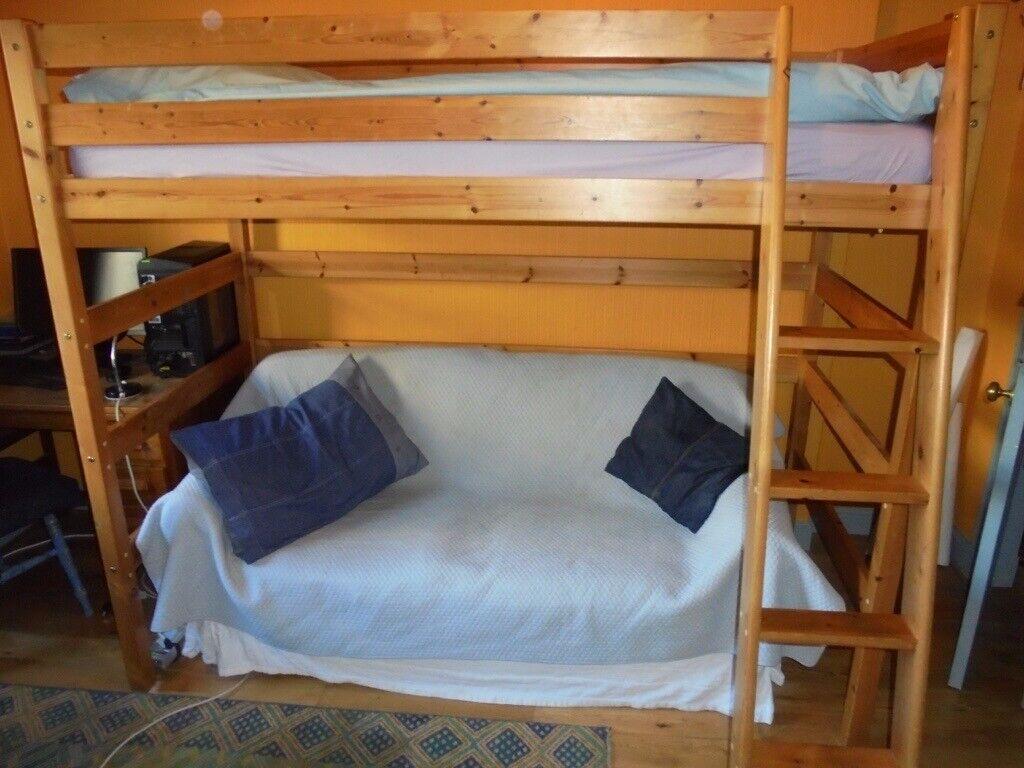 Single Bunk Bed With Sofa Underneath In Joppa Edinburgh Gumtree