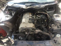 mercedes c class w203 c180 engine for sale or fitted call parts