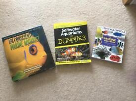 Marine fish keeping books