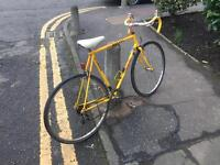 Bicycle vintage racer BANANA 1990 team