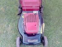 """21"""" mountfield petrol push lawnmower"""