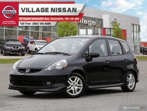 2008 Honda Fit Sport NO ACCIDENTS! ONE OWNER!