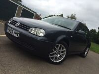 2003 MK4 GTI 5 Doors 2.0 Petrol, 3 Owner From New, 10 Months MOT &Full History,Heated Leather Seats.