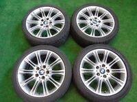 "BMW 3 SERIES MV2 STYLE 18"" ALLOY WHEELS"
