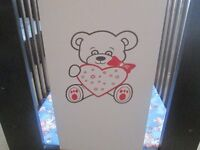 Baby Cot with mattress , collection only no delivery