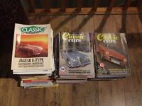 Classic car magazines from the 1980s