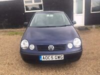 VOLKSWAGEN POLO 1.2 TWIST HATCHBACK 5DR 2005*IDEAL FIRST CAR*CHEAP INSURANCE*HPI CLEAR