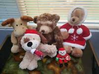 Christmas Soft toys bundle