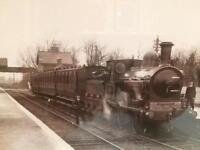 Knock railway station photograph