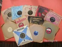 A collection of vintage records
