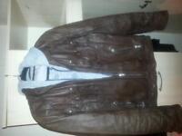 leather jacket Next size large