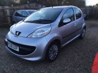PEUGEOT 107 1.0 12v URBAN HATCHBACK 5DR 2006*IDEAL FIRST CAR*CHEAP INSURANCE*ONLY £20 ROAD TAX A YR